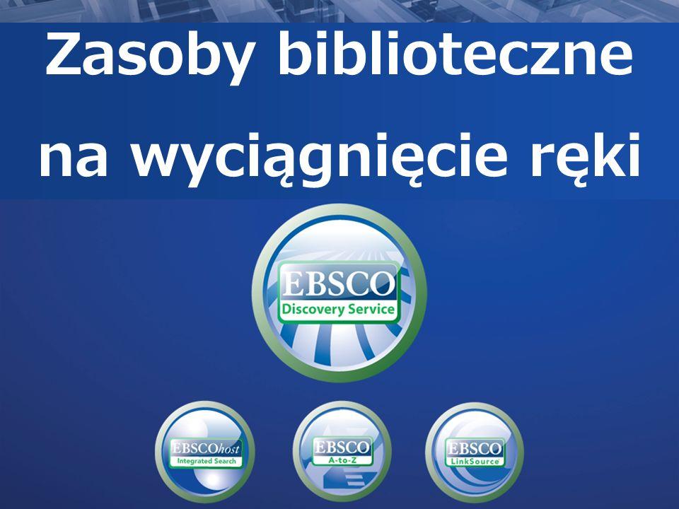 Dostosowanie interfejsu do własnych potrzeb Biblioteki mogą zmienić wygląd komponentów interfejsu, w tym: –Nazwę serwisu użytkownik może nie widzieć nazwyEBSCO Discovery Service zamiast tego będzie widział nazwę uniwersytetu –Kolory –Logo –Strony wyszukiwań