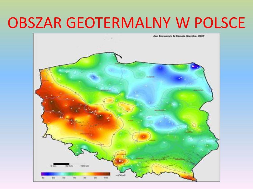 OBSZAR GEOTERMALNY W POLSCE