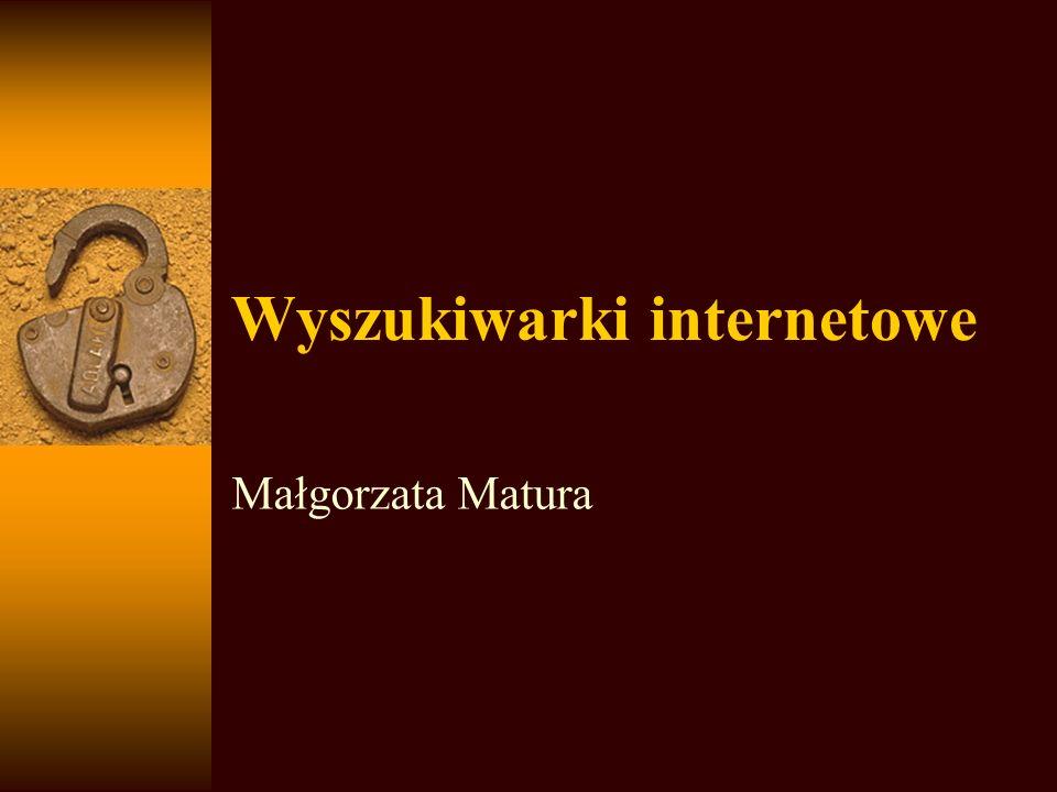 http://szukaj.wp.pl Do wyszukiwania polskich zasobów jest używana wyszukiwarka FAST.