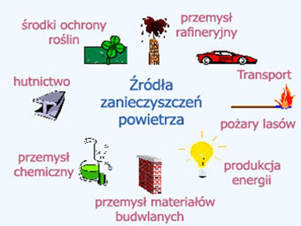 Dziura ozonowa jest spowodowana głównie przez emisję freonów oraz tlenków azotu.