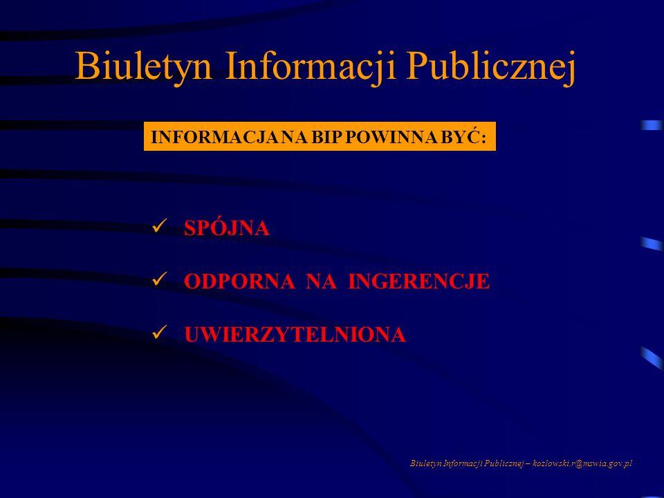 Biuletyn Informacji Publicznej Przykład obowiązującej regulacji do ustawy z dnia 23 listopada 2002 r. O zmianie ustawy o samorządzie gminnym, powiatow