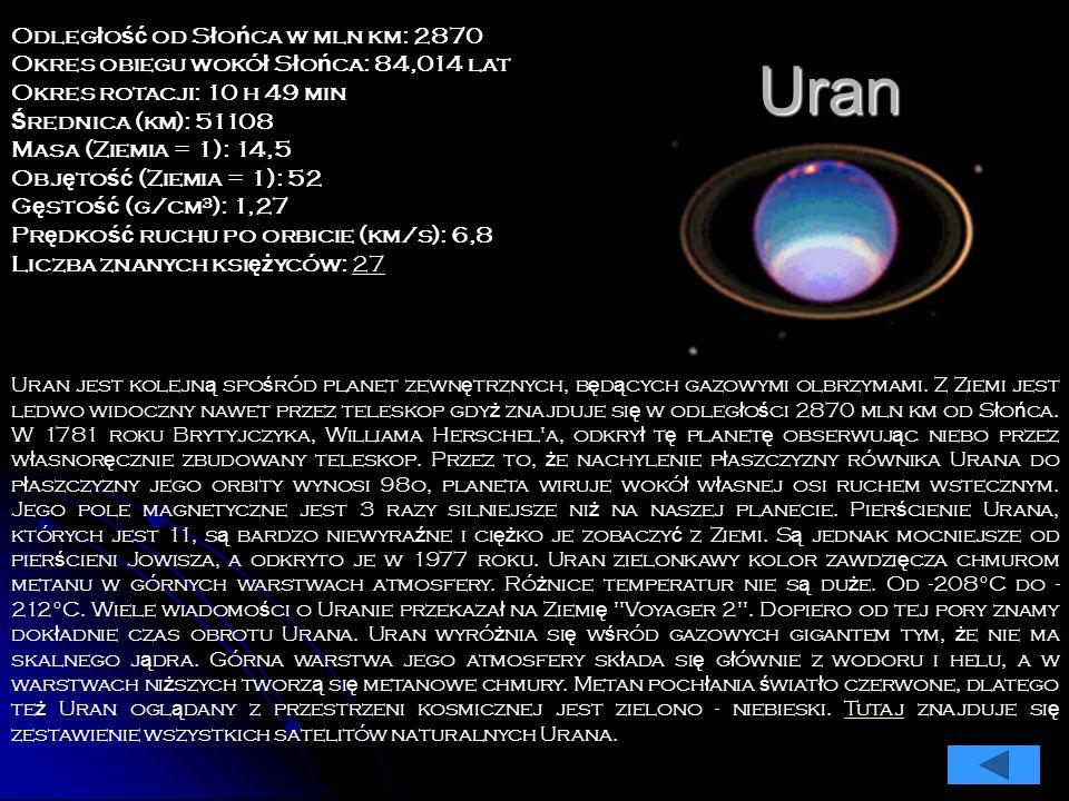 Saturn Saturn jest szóst ą planet ą od S ł o ń ca, drug ą co do wielko ś ci, po Jowiszu, planet ą naszego Uk ł adu. Jest jedn ą z planet zewn ę trznyc