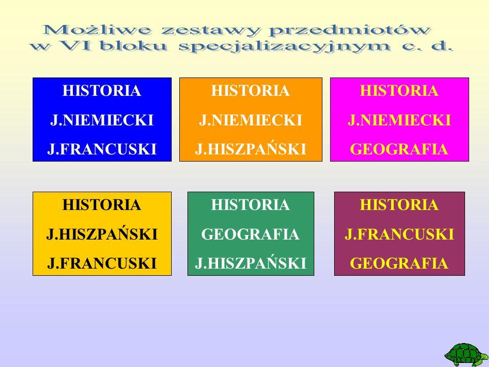 HISTORIA J.NIEMIECKI J.FRANCUSKI HISTORIA J.NIEMIECKI J.HISZPAŃSKI HISTORIA J.NIEMIECKI GEOGRAFIA HISTORIA J.HISZPAŃSKI J.FRANCUSKI HISTORIA GEOGRAFIA J.HISZPAŃSKI HISTORIA J.FRANCUSKI GEOGRAFIA
