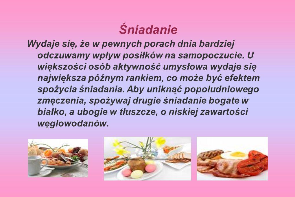Obiad Dobrym przykładem jest tu sałatka z niskokalorycznym sosem.