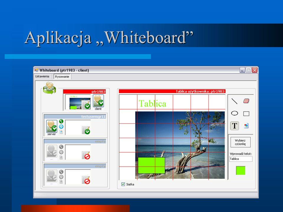 Aplikacja Whiteboard
