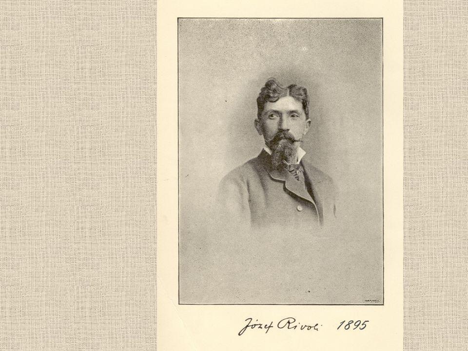 Profesor Józef Rivoli (1838-1926) Wielkopolanin praktyki w pruskich lasach państwowych (Bolewice) studia leśne - Tharandt Praca w dobrach kórnickich hrabiów Działyńskich