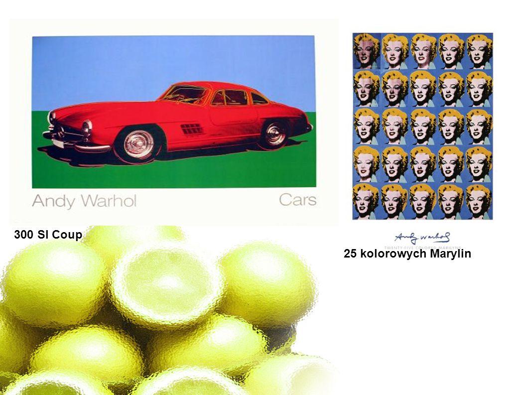 25 kolorowych Marylin 300 Sl Coup