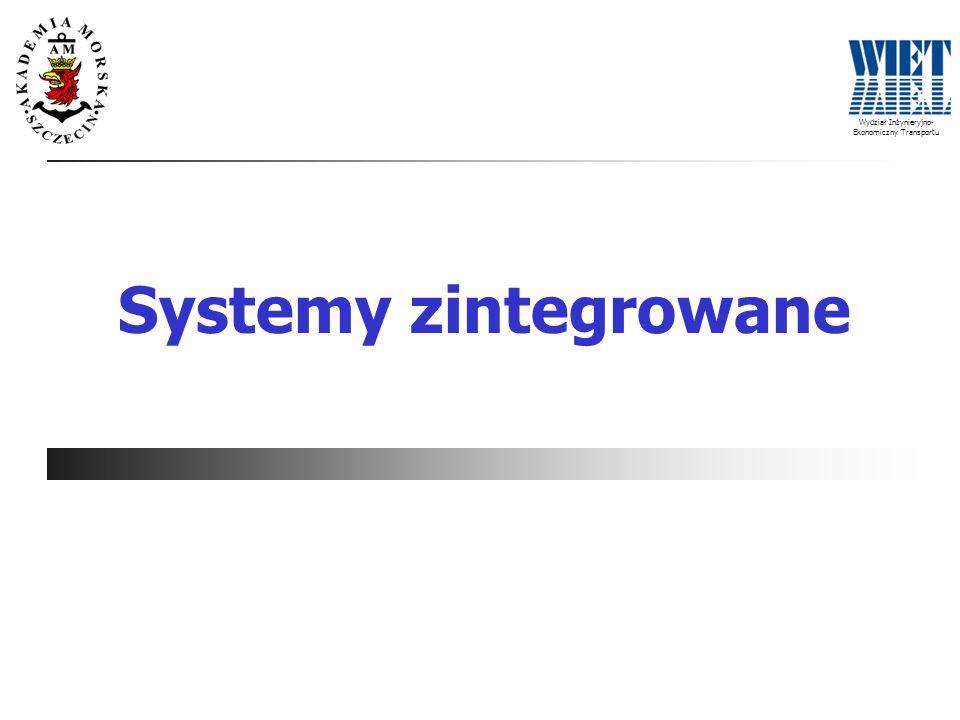 Wydział Inżynieryjno- Ekonomiczny Transportu Systemy zintegrowane