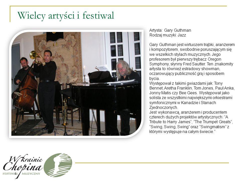 Wielcy artyści i festiwal do uzupełniania 7 Maria Pomianowska Maria Pomianowska -kompozytorka, wokalistka, instrumentalistka, pedagog.