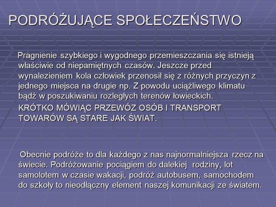 Temat: Transport zrównoważony Opracowali: Gimnazjum 3 im. Euroregionu Nysa w Lubaniu Jankowska Kamila Koroluk Sebastian Figurski Kamil Opiekun: Sawick
