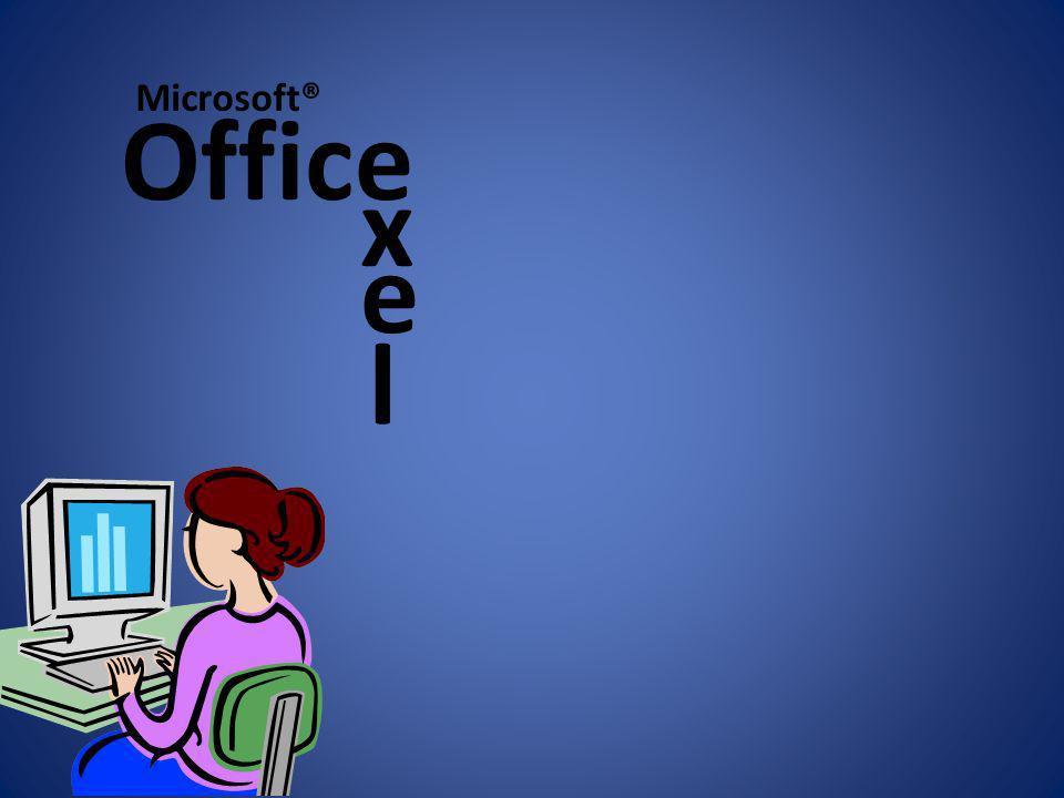 Microsoft® Office x e l