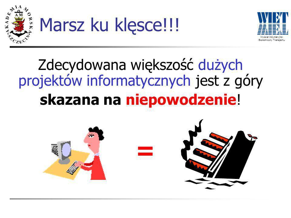 Wydział Inżynieryjno- Ekonomiczny Transportu Marsz ku klęsce!!.