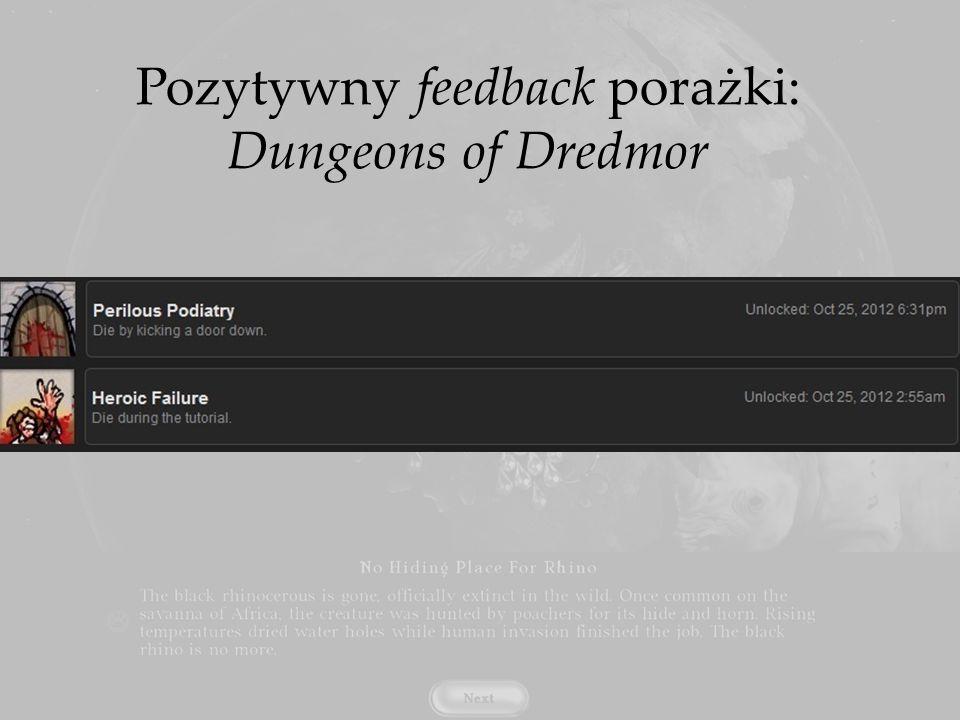 Pozytywny feedback porażki: Dungeons of Dredmor