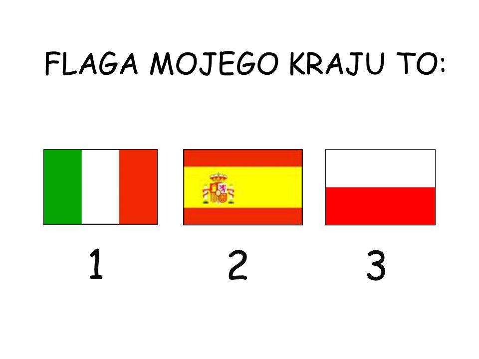 FLAGA MOJEGO KRAJU TO: 1 23