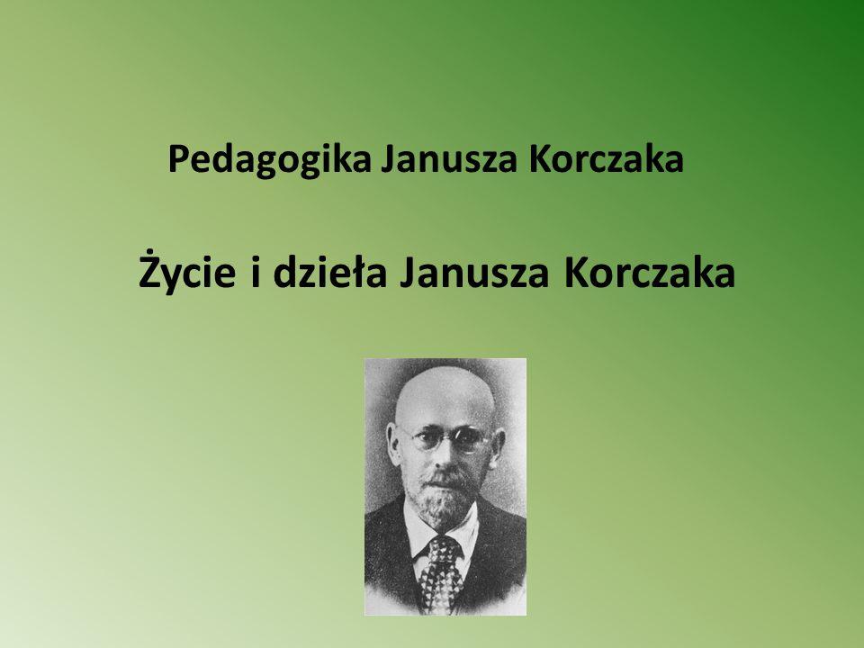 Korczak był kreatorem takich wartości, jak: miłość do bliźnich, sprawiedliwość, godność, szacunek, piękno i prawda, twierdził, że dorośli często nie dopuszczają dzieci do ich spraw codziennych, uznając je za małe i niedoświadczone.