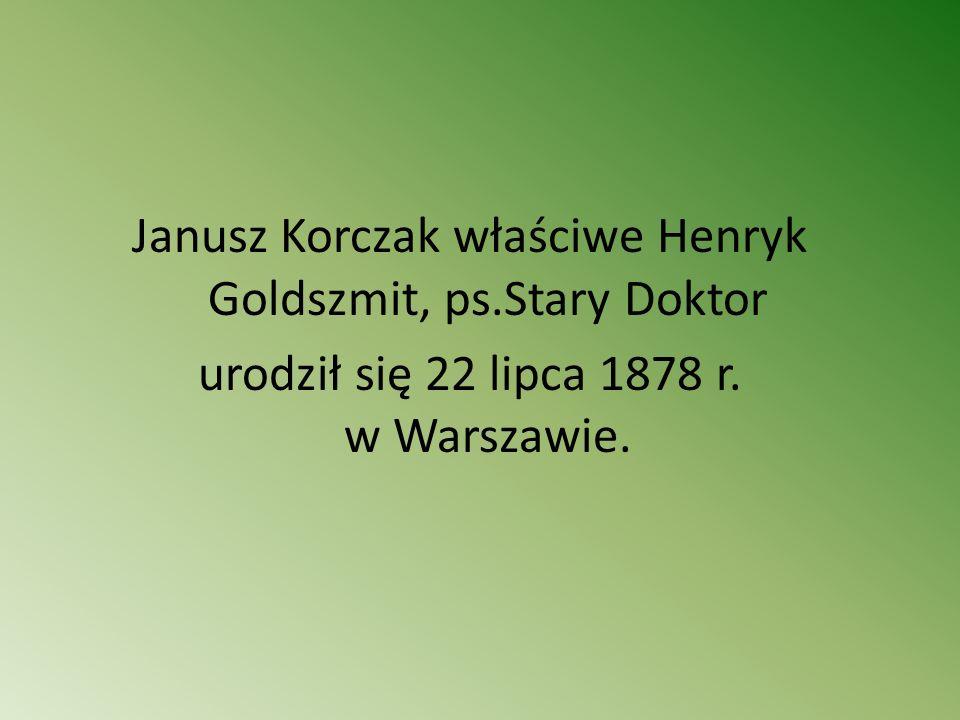 Oryginalna twórczość literacka Korczaka dla dzieci i o dzieciach łączy humanitaryzm i głęboka znajomość psychiki dziecięcej z liryzmem, humorem i fantazją.