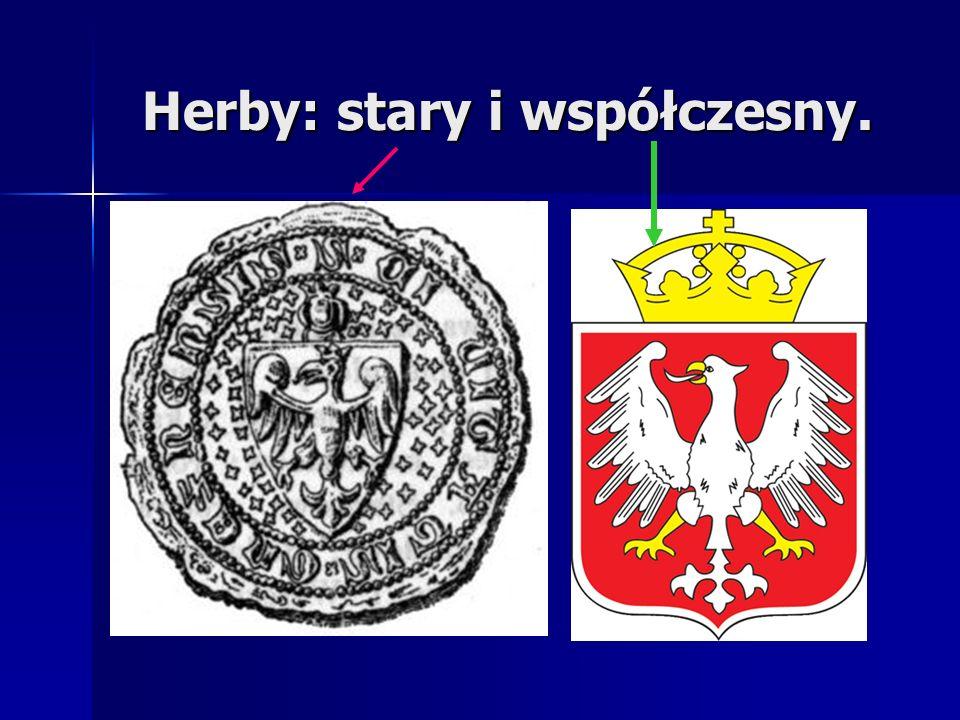 Herby: stary i współczesny.