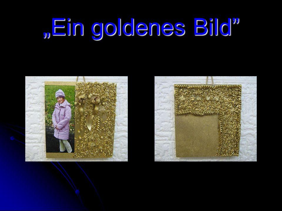 Obraz 6 Złoty Niedawno był Dzień Babci i Dziadka. Zrobiliśmy dla nich złoty obraz ze swoim zdjęciem. Wykonanie jest naprawdę proste. Więc do dzieła: N
