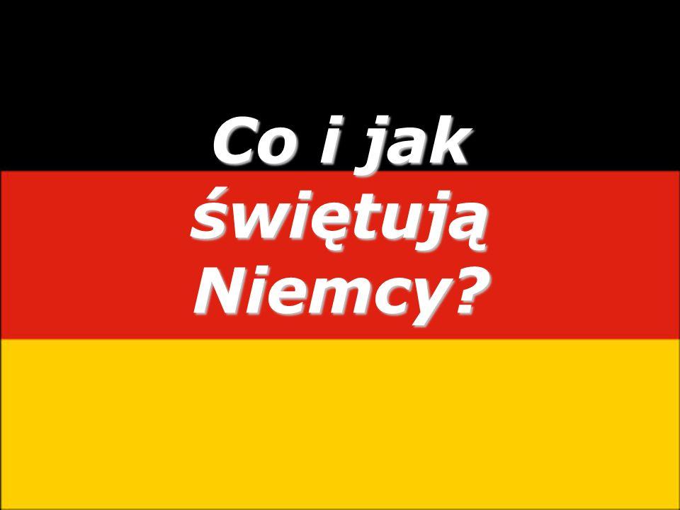Co i jak świętują Niemcy?