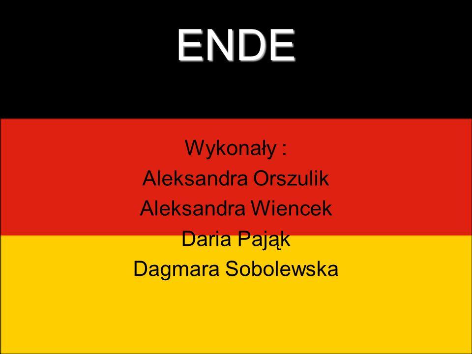 ENDE Wykonały : Aleksandra Orszulik Aleksandra Wiencek Daria Pająk Dagmara Sobolewska