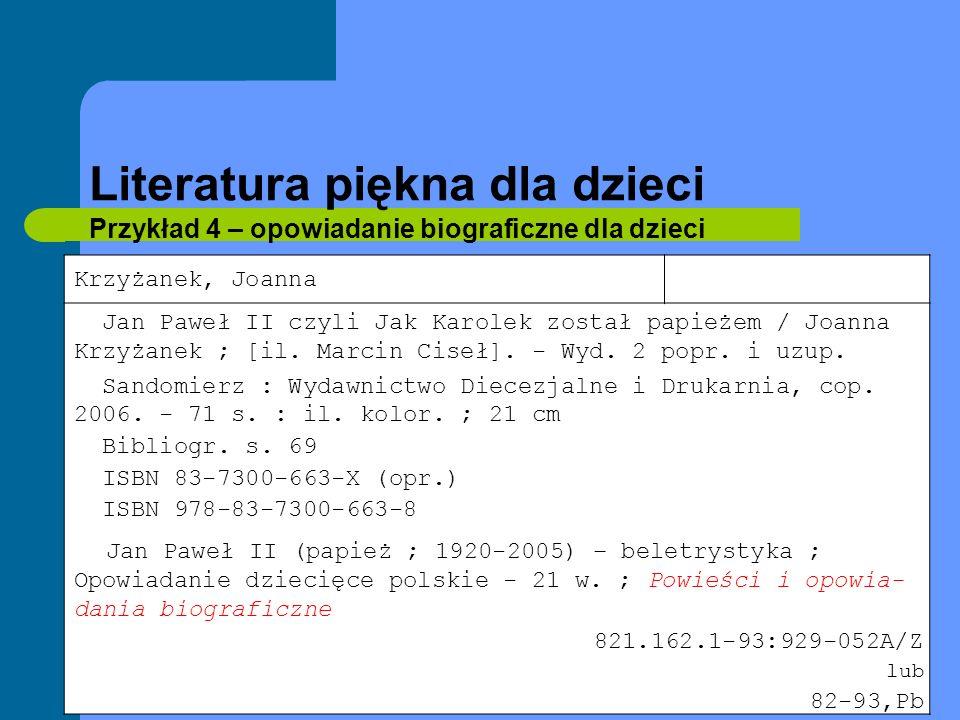 Literatura piękna Przykład 15 - poezja Poświatowska, Halina Wszystkie wiersze / Halina Poświatowska.
