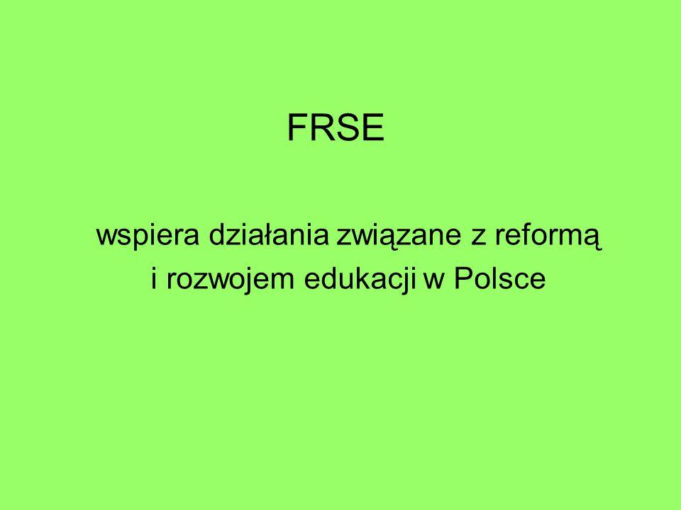 FRSE wspiera działania związane z reformą i rozwojem edukacji w Polsce