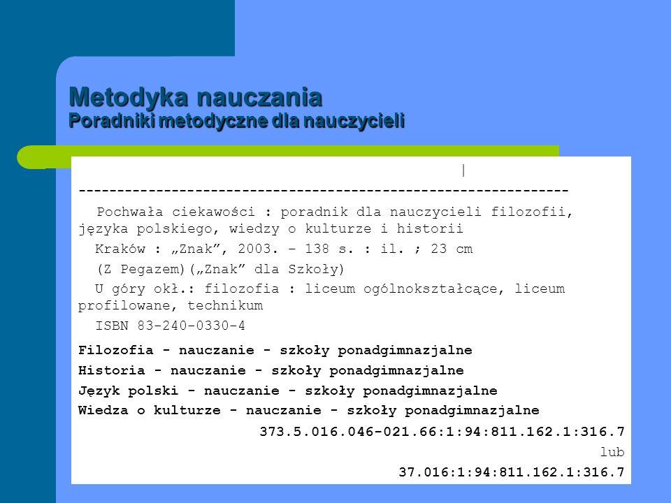Metodyka nauczania Poradniki metodyczne zawierające scenariusze lekcji Grzybowski, Roman | --------------------------------------------------------------- Fizyka i astronomia 1 : wybrane scenariusze lekcji dla nauczyciela gimnazjum / Roman Grzybowski Gdynia : Operon, 2007.