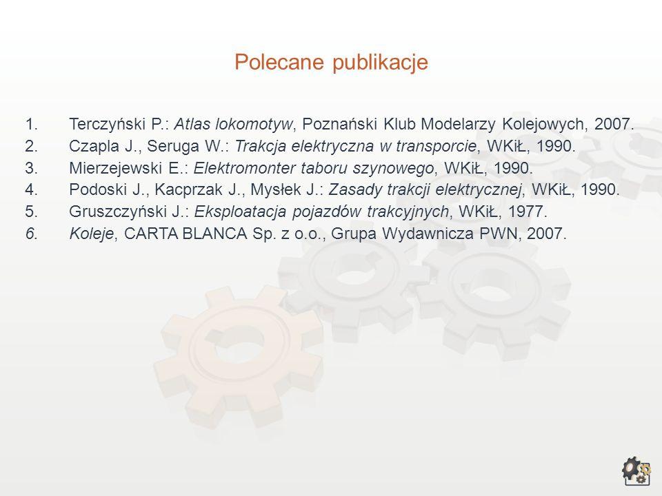 III. Przy opracowywaniu charakterystyki wykorzystaliśmy poniższe źródła informacji: 1.Lelińska K., Gruza M., Sołtysińska G. (red.): Zawody szkolnictwa