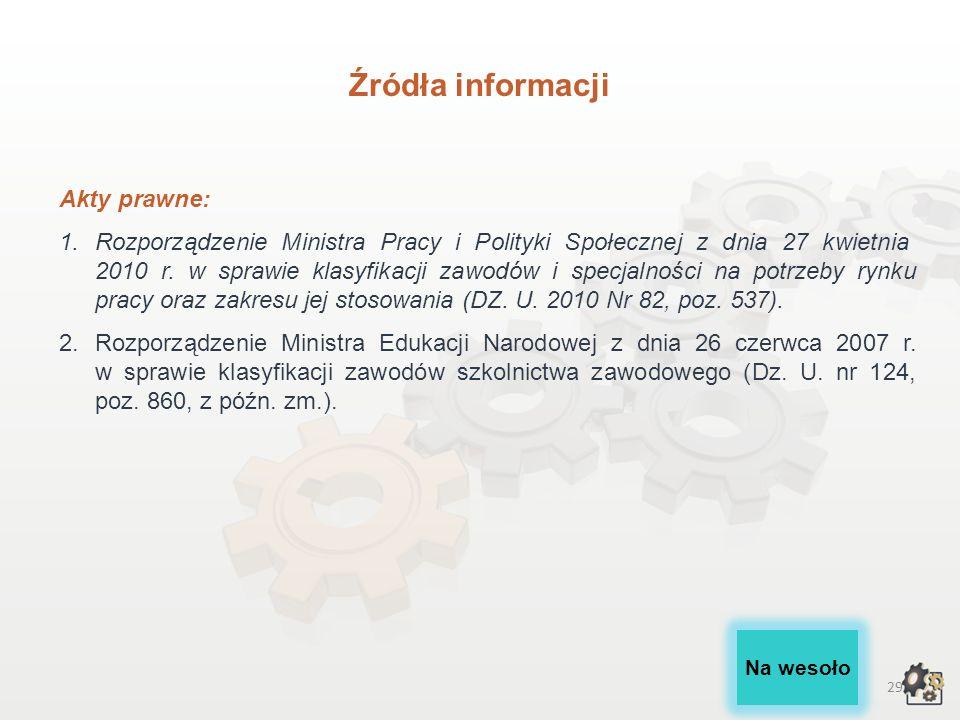 28 Źródła informacji III.