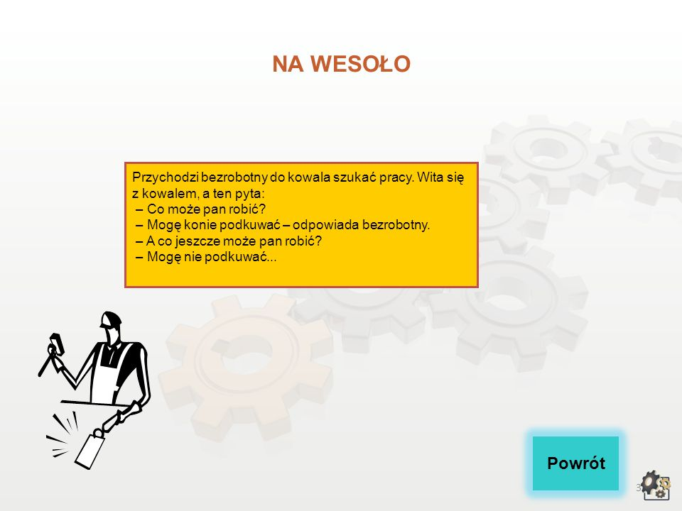 2 KOWAL Multimedialna charakterystyka zawodu Nazwa zawodu: KOWAL Kod zawodu w klasyfikacji szkolnictwa zawodowego: 722[04] Kod zawodu w klasyfikacji z