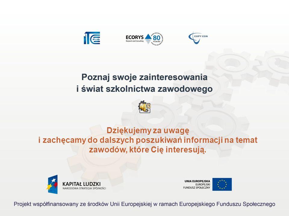 Akty prawne 1.Rozporządzenie Ministra Pracy i Polityki Społecznej z dnia 27 kwietnia 2010 r. w sprawie klasyfikacji zawodów i specjalności na potrzeb
