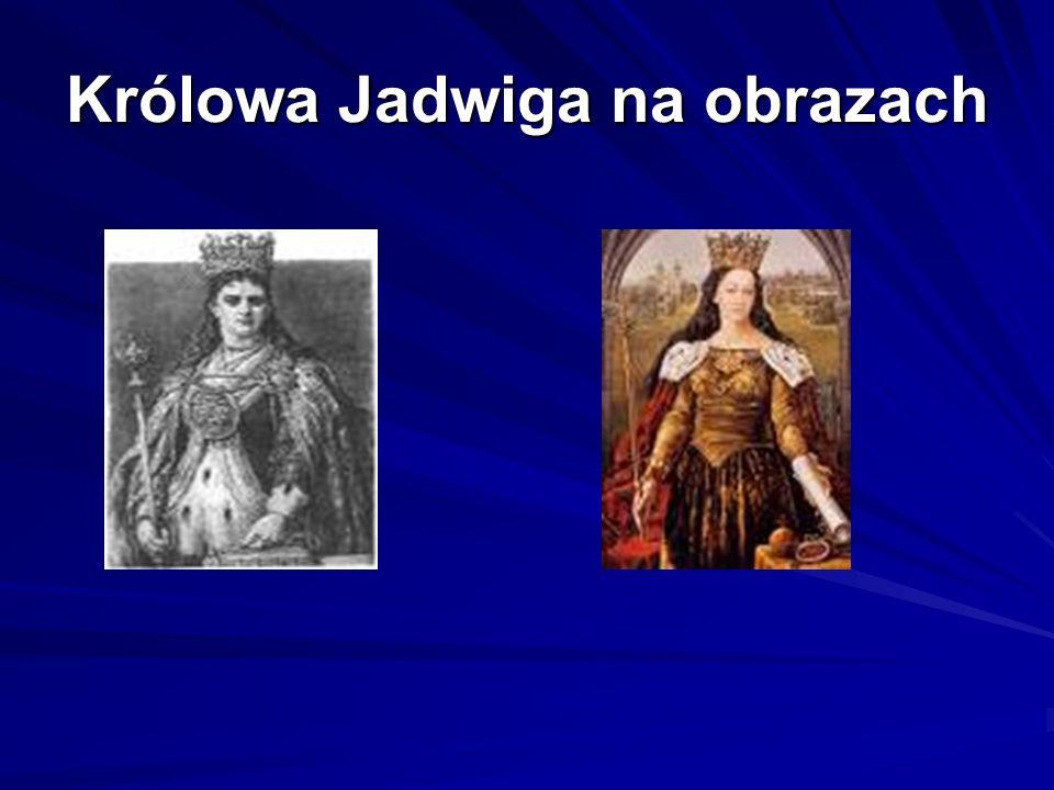 Królowa Jadwiga na obrazach