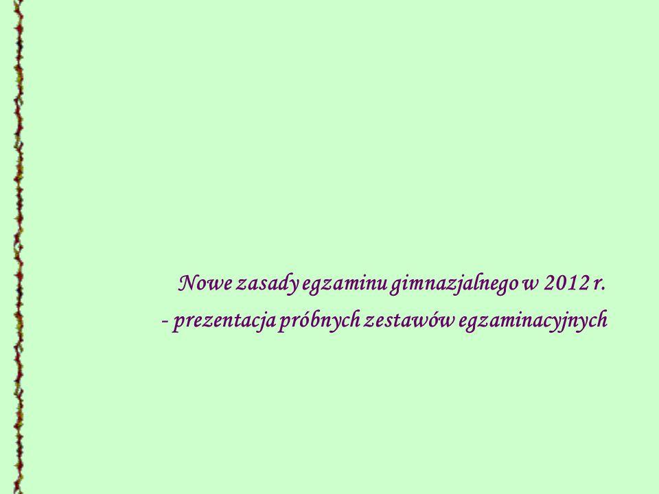 ROZPORZADZENIE MINISTRA EDUKACJI NARODOWEJ z dnia 20 sierpnia 2010 r.