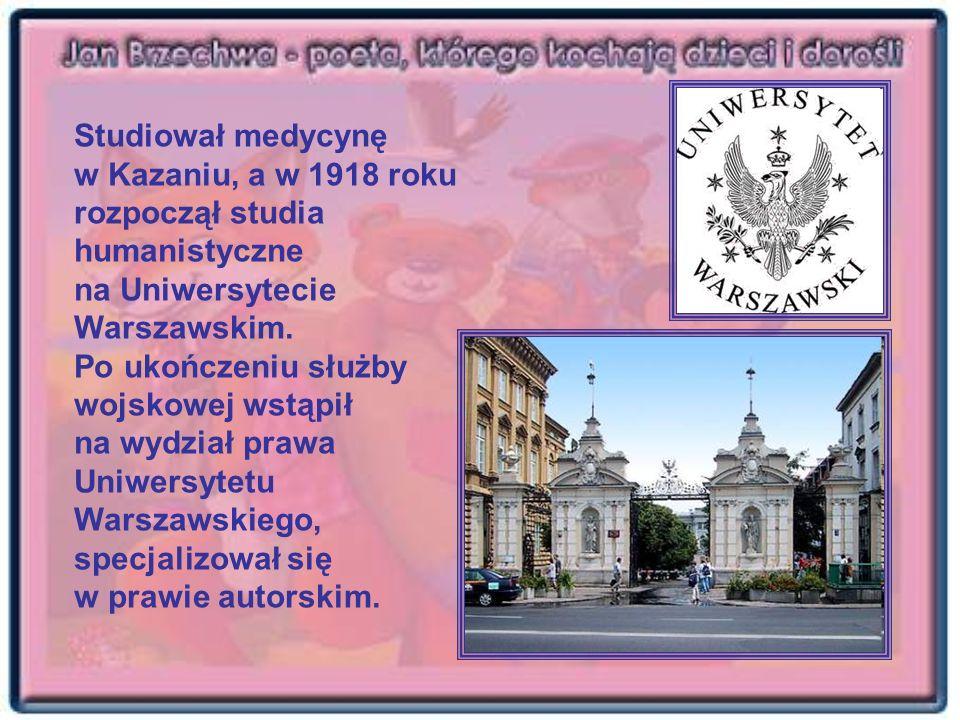 Studiował medycynę w Kazaniu, a w 1918 roku rozpoczął studia humanistyczne na Uniwersytecie Warszawskim. Po ukończeniu służby wojskowej wstąpił na wyd