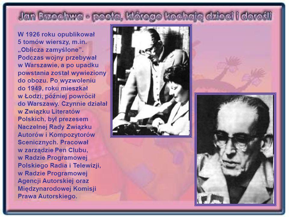 W 1926 roku opublikował 5 tomów wierszy, m.in. Oblicza zamyślone. Podczas wojny przebywał w Warszawie, a po upadku powstania został wywieziony do oboz