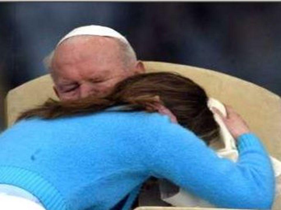 Jan Paweł II Swoim życiem pokazywał nam młodym, postawę prawdziwego chrześcijanina jako prokuratora życia i drogę, którą powinien kroczyć by nie zamknąć swojego serca na potrzeby bliźniego swego.