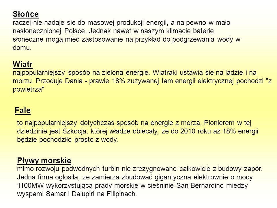 raczej nie nadaje sie do masowej produkcji energii, a na pewno w mało nasłonecznionej Polsce. Jednak nawet w naszym klimacie baterie słoneczne mogą mi