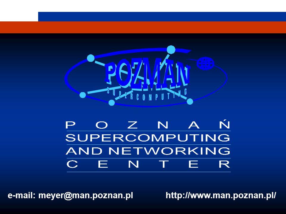 1 e-mail: meyer@man.poznan.pl http://www.man.poznan.pl/