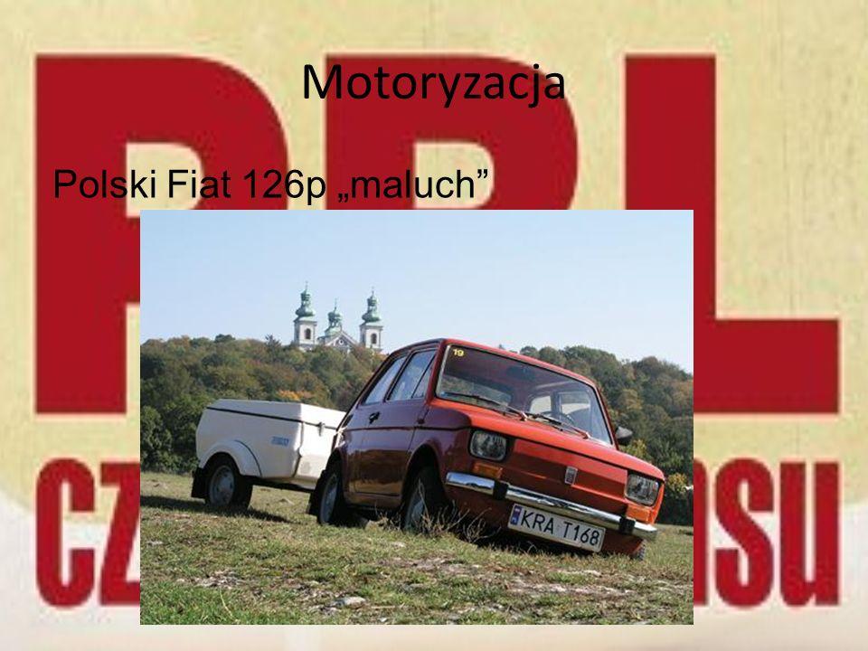 Motoryzacja Polski Fiat 126p maluch