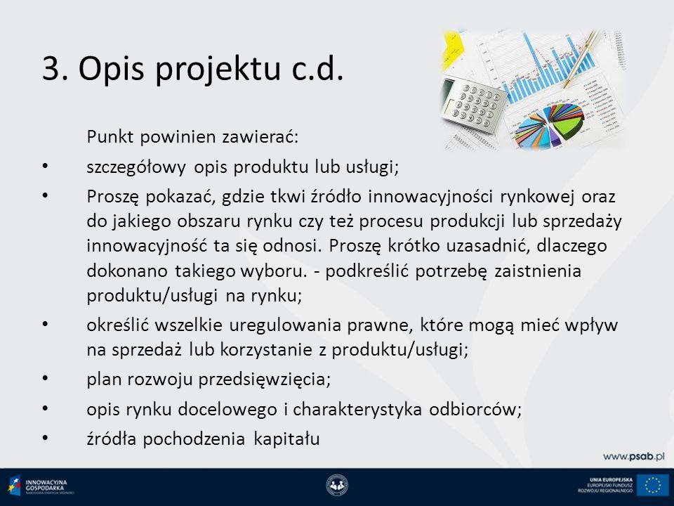 3.Opis projektu c.d.