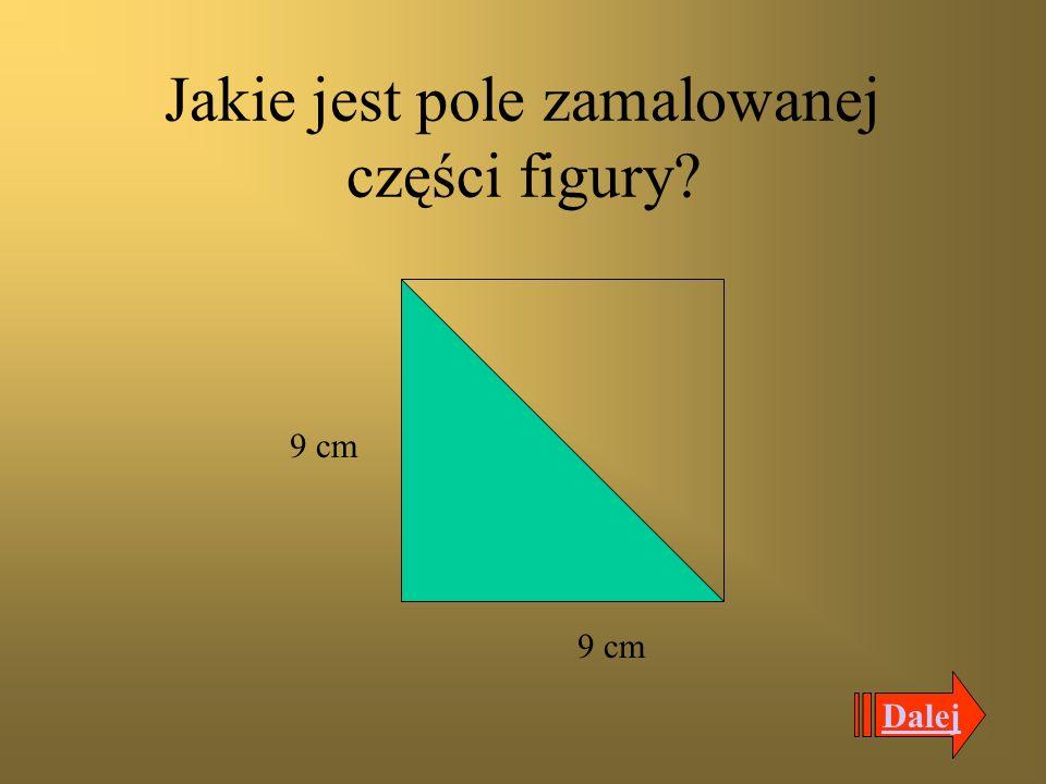 Jakie jest pole prostokąta? 10 cm 6,8 cm Dalej