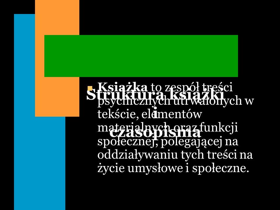 Definicja czasopisma n Wydawnictwo ciągłe n Wydawnictwo ciągłe (periodyk, wydawnictwo periodyczne, popularnie - pismo), ukazujące się lub mające się ukazywać pod tym samym tytułem z numeracją bieżącą w określonych odstępach czasu.