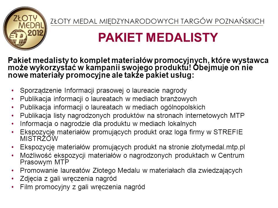 STREFA MISTRZA pozwala jeszcze skuteczniej przedstawić produkty firmy, profesjonalnym zwiedzającym W strefie zwiedzający oraz wystawcy będą mogli oddawać głosy na ZŁOTY MEDAL MTP – WYBÓR KONSUMENTÓW 2012 JESZCZE WIĘCEJ POWIERZCHNI – STREFA MISTRZÓW Strefa Mistrzów to ekskluzywne stoisko, na którym prezentowane są informacje o produktach nagrodzonych Złotym Medalem