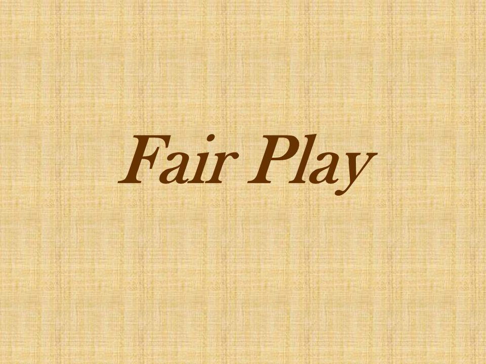Co to jest Fair Play.Fair Play to norma warto ś ci w sporcie.