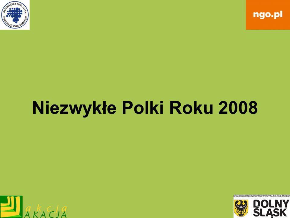 Niezwykłe Polki Roku 2008
