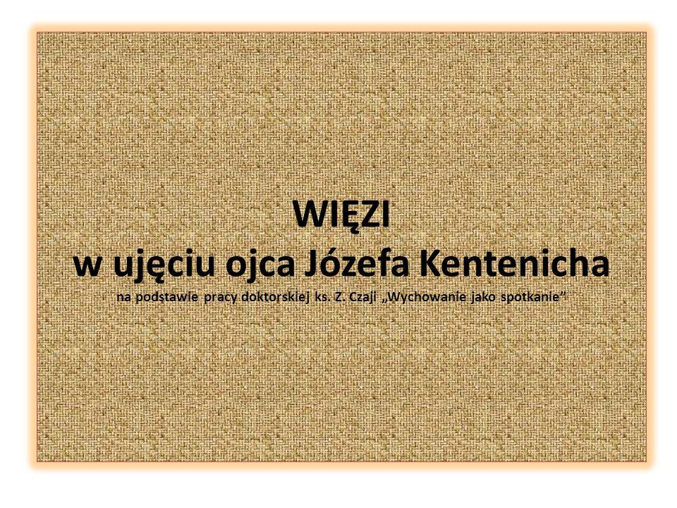 WIĘZI w ujęciu ojca Józefa Kentenicha na podstawie pracy doktorskiej ks.