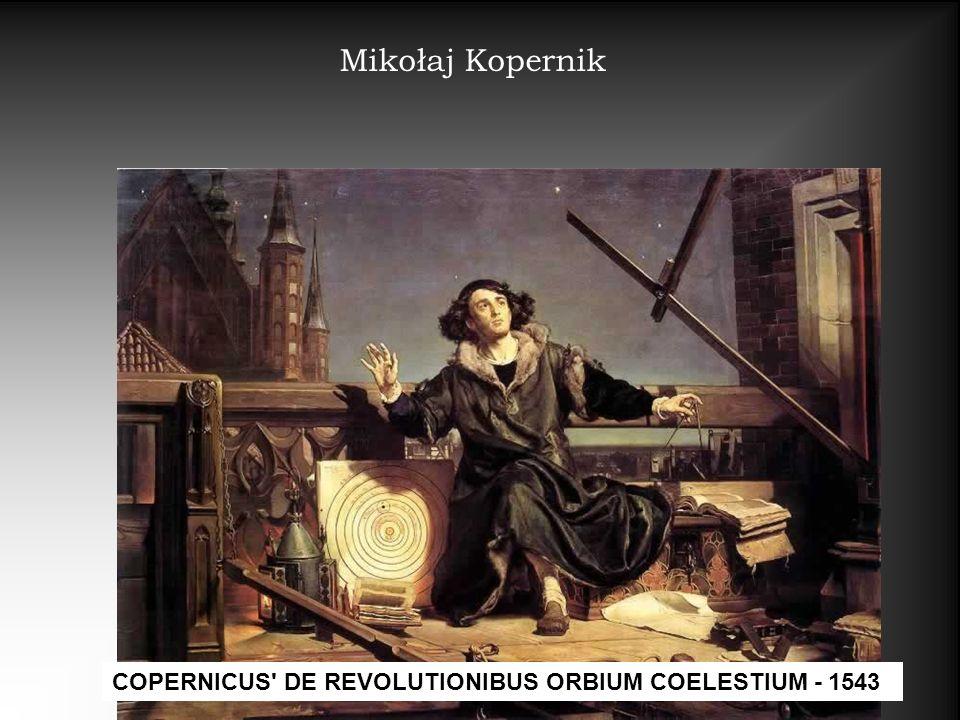 Mikołaj Kopernik COPERNICUS' DE REVOLUTIONIBUS ORBIUM COELESTIUM - 1543