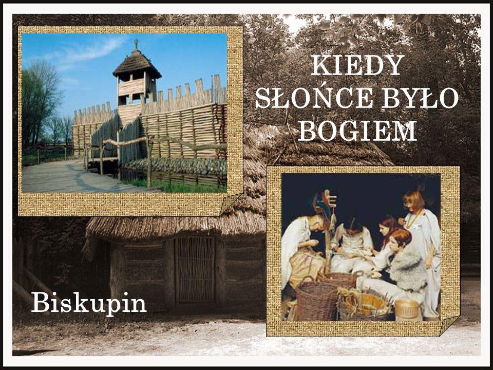 Biskupin - osada z 750 - 600 p.n.e