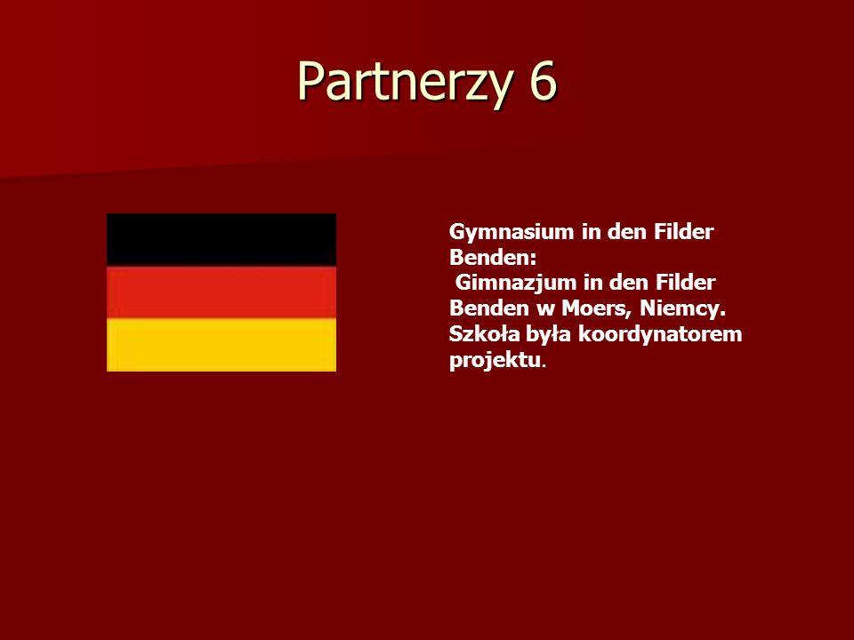 Partnerzy 6 Gymnasium in den Filder Benden: Gimnazjum in den Filder Benden w Moers, Niemcy. Szkoła była koordynatorem projektu.