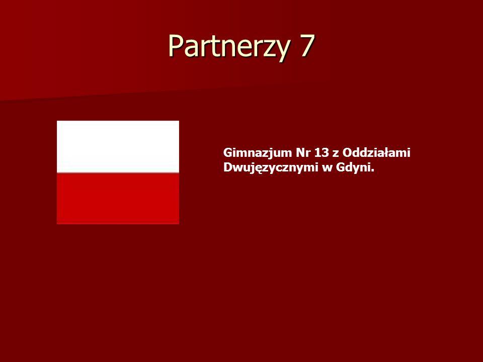 Partnerzy 7 Gimnazjum Nr 13 z Oddziałami Dwujęzycznymi w Gdyni.